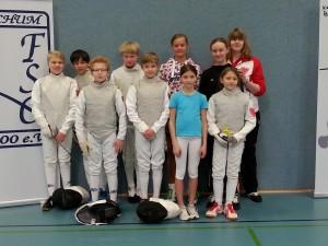 FSGRW-Team Osterhasenturnier 2016